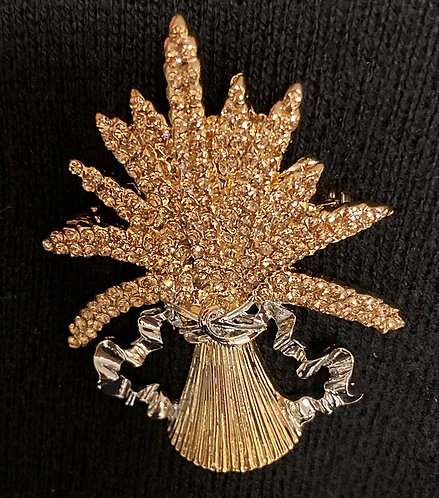 President National Wheat Pin