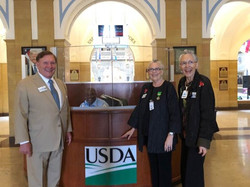 At the USDA June 2019