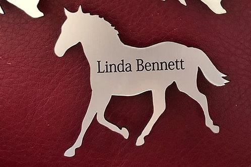 Horse Name Tag