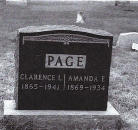 Clarence & Amanda Page grave.jpg