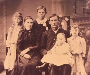Family of David Miller (1853-1938) Hamil