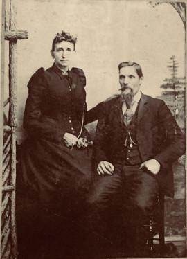 Isaac Newton Short and wife Mary Jane Mo