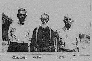 John Oliver Davis with brothers.jpg