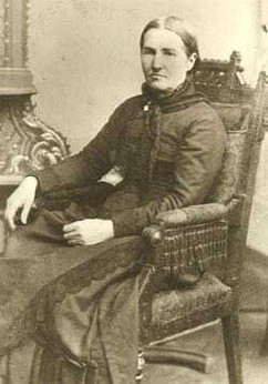 Delilah Cronk West - wife of John Wilson