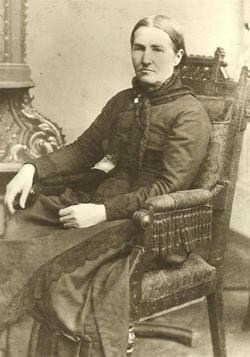 Delilah Cronk West - wife of John Wilson