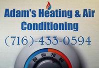 Adam's Heating & Air Conditioning Logo