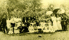 Summer 1913. Cherokee Co, NC.  Singing S