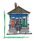 Silent Partners Logo - shotgun house wit