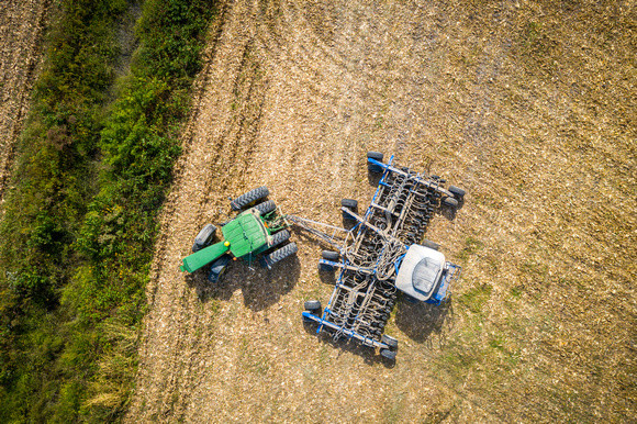 Image of equipment in field.  Image by Edwin Remsberg