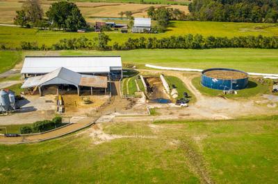 Liquid storage with dairy farm in MD by Edwin Remsberg