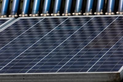 Solar panels by Chesapeake Bay Program