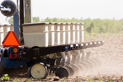 Planting soybeans by United Soybean Board