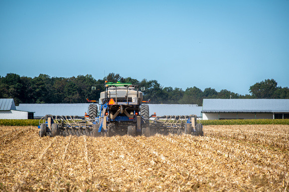 Image of cover crops being planted by Edwin Remsberg