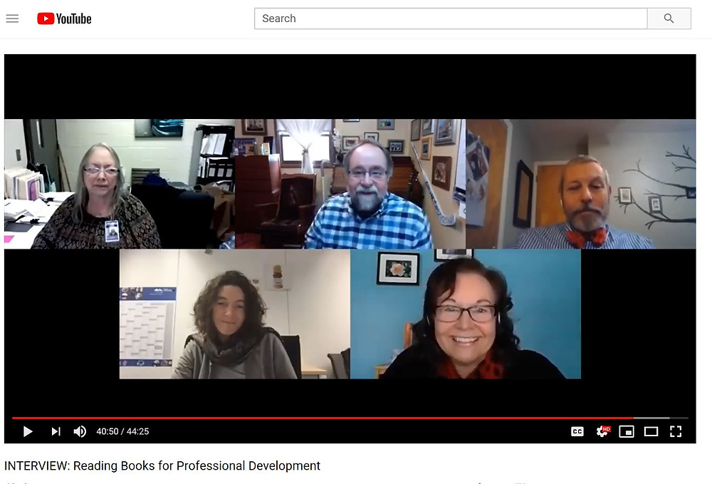 Video chat with career counselors on professional development reads.