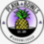 Playa Bowls Logo