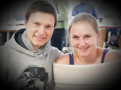 Peter Bodlos und Sarah Gollner