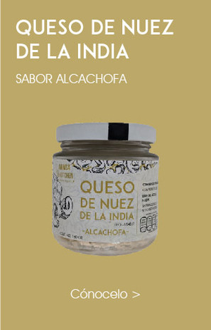 Queso Crema de Nuez de la India Alcachofa