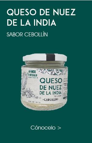 Queso Crema de Nuez de la India Cebollín