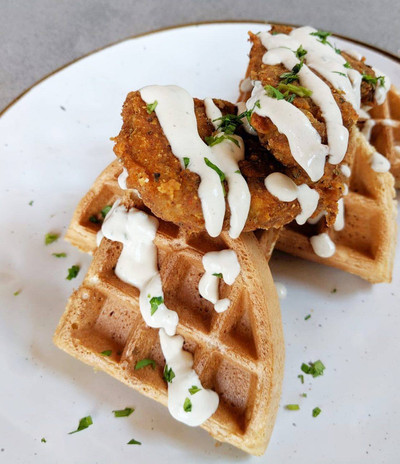 CHIK'N AND WAFFLES