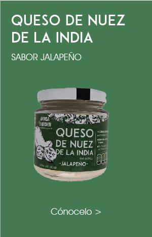 Queso Crema de Nuez de la India Jalapeño