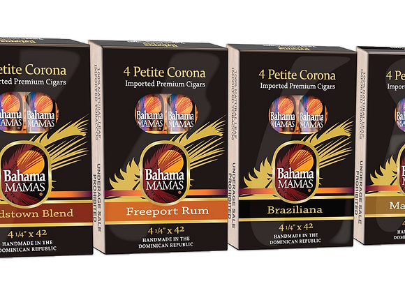 4-Pack Petite Coronas that go anywhere. In 4 unique accents.