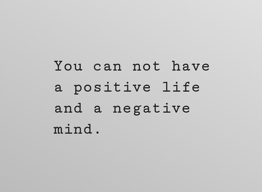 THE IMPORTANCE OF BEING POSITIVE
