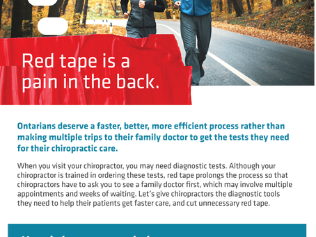 Red Tape is a Pain in the Back