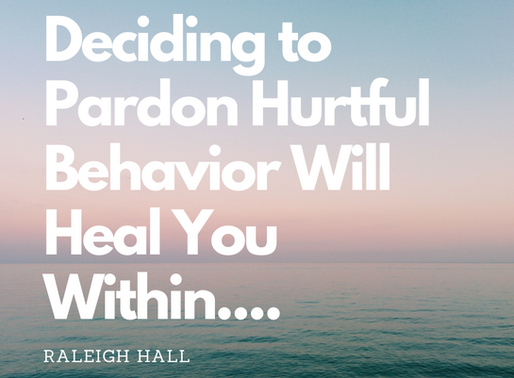 Pardoning To Heal