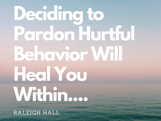 Pardoning To Heal