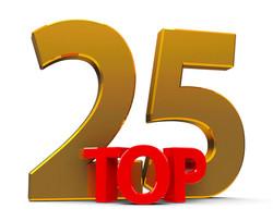 POWER MUZIC RADIO'S TOP 25