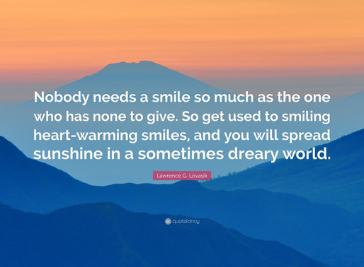 IT'S IN OUR SMILE
