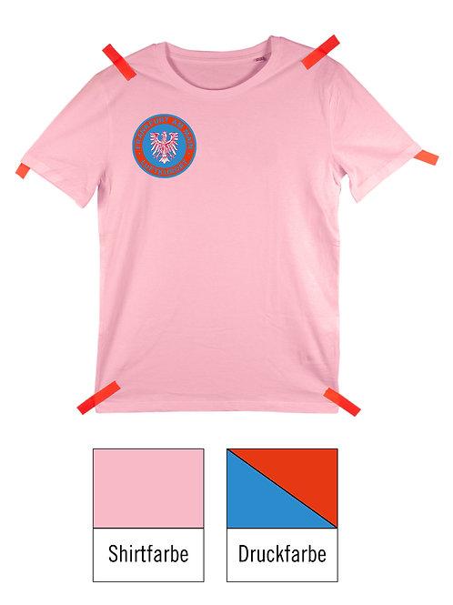 Frankfurt Luftkurort Shirt - Rosa / Blau-Rot