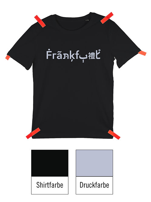 Frankfurt Shirt - Schwarz / Flieder
