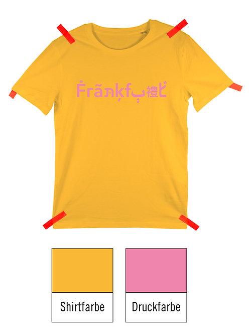 Frankfurt Shirt - Gelb / Rosa