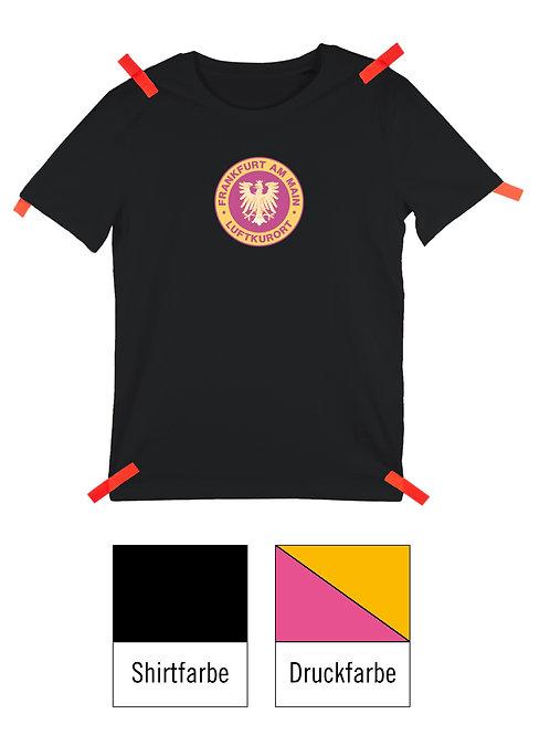 Frankfurt Luftkurort Shirt - Schwarz/ Rosa-Gelb