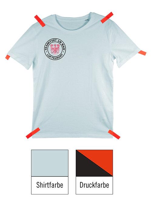 Frankfurt Luftkurort Shirt - Blau / Schwarz-Rot