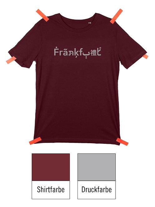 Frankfurt Shirt - Burgundy / Grau