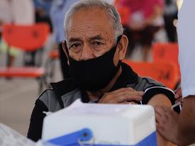 México supera nuevo récord de vacunación por día