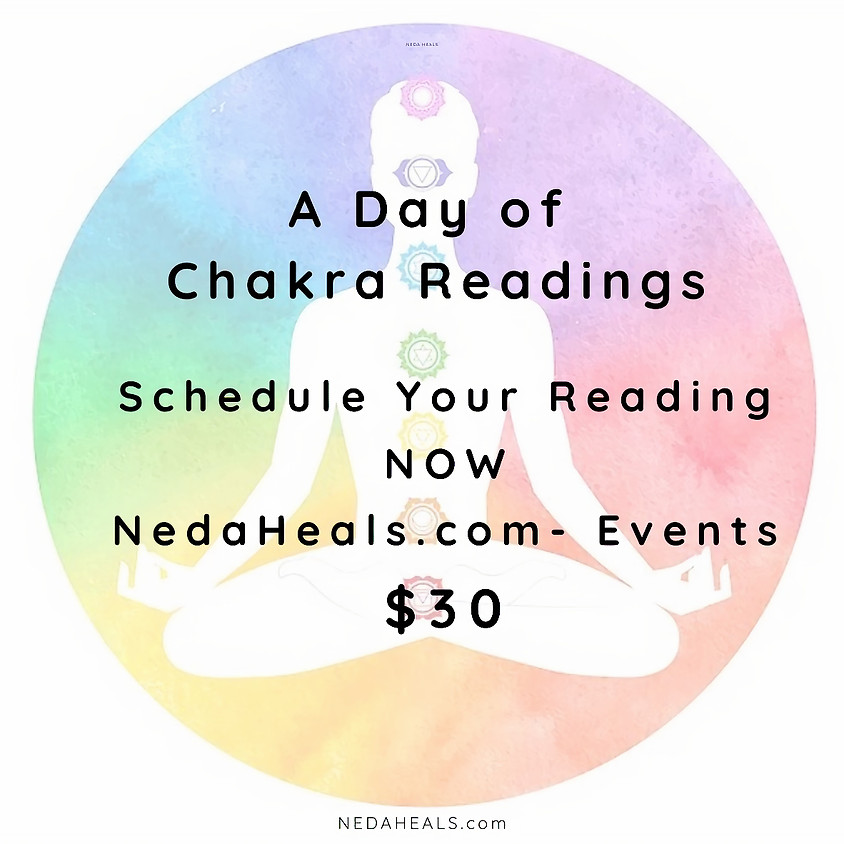 A Day of Chakra Readings