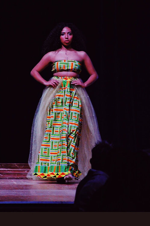 Kehinde Kente Two Piece Set