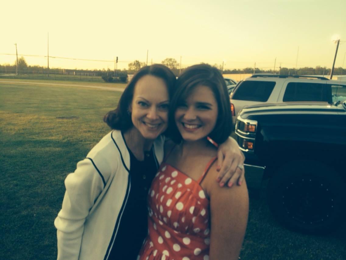 Liz and Rachel
