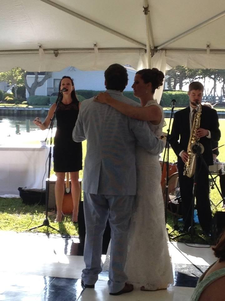 Liz at Vaughan Wedding
