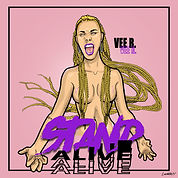 veer stand - a live cover art by luckitah