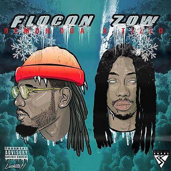 Cover pour le mixtape de _doa_hk et _t1z