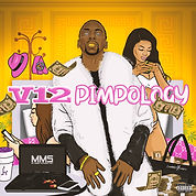 V12 - PIMPOLOGY cover art by luckitah / tno gfx