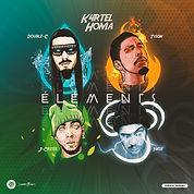 k4rtel homa - éléments cover art by luckitah /tno gfx