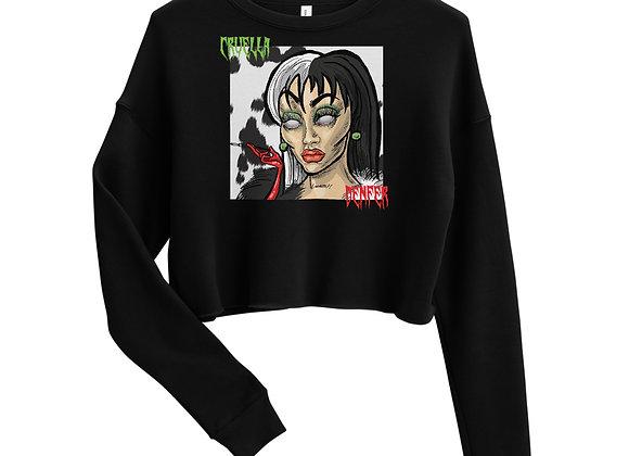 cruella Crop Sweatshirt