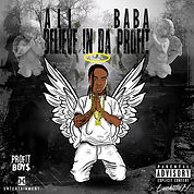 ali baba- believe in the profit cover art by luckitah art