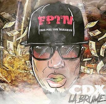 CDX- La Brume cover art by luckitah art / tno gfx