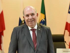 DESEMBARGADOR PRESIDENTE DO TJ-ES, SERGIO LUIZ T. GAMA, TOMA CIÊNCIA DO PROJETO LIXO ZERO SOCIAL 10.